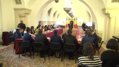 """Masa rotundă cu tema """"Perspectiva elevilor asupra sistemului de învățământ din România"""" cu participarea Președintelui României, Klaus Iohannis"""