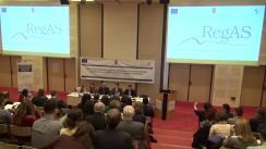 Conferință organizată de Consiliul Concurenței pentru prezentarea aplicației IT- Registrul Ajutoarelor de Stat (RegAS)