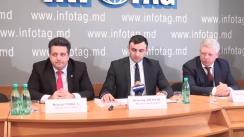 """Conferință de presă organizată de AGEPI dedicată inaugurării Expoziției Internaționale Specializate """"INFOINVENT"""", ediția a XIV-a"""