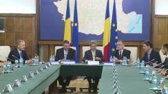 Ceremonia de predare-primire a mandatului de prim-ministru al României