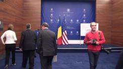 Lansarea emisiunii de mărci poștale dedicate aniversării a 135 de ani de relații diplomatice România – S.U.A.