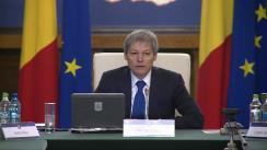 Ședința Guvernului României din 19 noiembrie 2015 (imagini protocolare)
