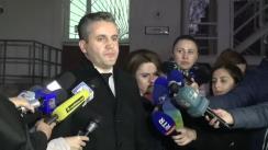 Declarațiile avocatului Igor Popa după ședința Curții de Apel Chișinău privind examinarea recursului deputatului Vlad Filat