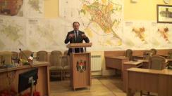 Briefing susținut de fracțiunea PSRM din Consiliul Municipal Chișinău