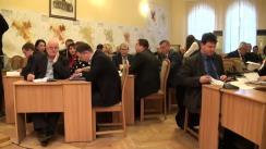 Ședința săptămânală a serviciilor primăriei Chișinău din 23 noiembrie 2015