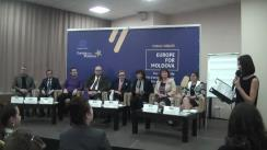 """Dezbatere publică pe tema """"Migrația – provocări și oportunități pentru Moldova?"""" organizată de Delegația Uniunii Europene în Republica Moldova în parteneriat cu proiectul NEXUS Moldova"""