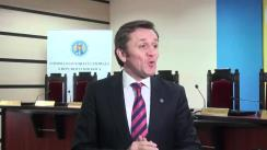 Declarațiile lui Iurie Ciocan după întrunirea dedicată marcării a 18 ani de la adoptarea Codului electoral al Republicii Moldova și 18 ani de activitate a Comisiei Electorale Centrale