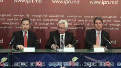 """Conferința de presă cu ocazia finalizării proiectului """"GazTrain"""" cu tema """"Standarde europene de siguranță și eficiență energetică pentru consumatorii din Moldova prin suportul Guvernului Germaniei"""""""