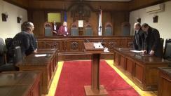 Hotărârea Curții Constituționale de interpretare a Constituției privind dizolvarea Parlamentului, în cazul imposibilității formării Guvernului timp de 3 luni, în ultimele 6 luni în care Președintele Republicii Moldova este în această funcție