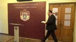Declarațiile lui Alexandru Tănase după hotărârea Curții Constituționale de interpretare a Constituției privind dizolvarea Parlamentului, în cazul imposibilității formării Guvernului timp de 3 luni