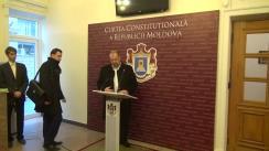 Declarațiile deputatului PSRM, Lebedinschi Adrian, după hotărârea Curții Constituționale de interpretare a Constituției privind dizolvarea Parlamentului, în cazul imposibilității formării Guvernului timp de 3 luni
