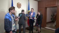 Declarațiile lui Mihai Ghimpu după ședința de lucru cu participarea liderilor fracțiunilor și partidelor parlamentare
