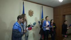 Declarațiile lui Vladimir Voronin după ședința de lucru cu participarea liderilor fracțiunilor și partidelor parlamentare