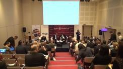 """Conferința organizată de Ziarul Financiar cu tema """"20 de ani de carduri, 20 de ani de democratizare a plăților"""""""