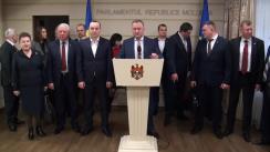 Declarația fracțiunii PSRM în timpul ședinței Parlamentului din 26 noiembrie 2015