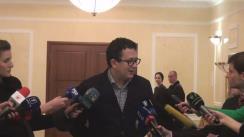 Declarațiile reprezentanților fracțiunii PLDM după consultările cu președintele Republicii Moldova, Nicolae Timofti, în vederea desemnării unui candidat la funcția de prim-ministru