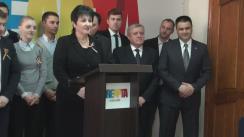 Conferință de presă organizată de grupul de inițiativă al partidului politic Dreapta prilejuită de Ziua Națională a României - 1 decembrie, aniversarea a 97 de ani de la Marea Unire din 1918