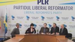 """Conferință de presă organizată de Partidul Liberal Reformator cu tema """"Un an de la alegerile parlamentare din 30 noiembrie 2014 și dezastrul instaurat în Republica Moldova - rolul și responsabilitatea forțelor politice"""""""