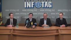"""Conferință de presă cu tema """"Schimbarea conducerii Partidului Societății Progresiste (PSP). Motivele și importanța!"""""""