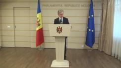 Declarațiile lui Iurie Leancă după runda de discuții între reprezentanții PLDM cu deputații neafiliați din grupul Leancă