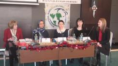 Conferință de presă organizată de Clubul Internațional al Femeilor din Moldova (IWCM) privind lansarea celei de-a 19-a ediții a Iarmarocului de caritate al iernii