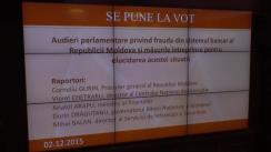 Ședința Parlamentului Republicii Moldova din 2 decembrie 2015 (partea a II-a)
