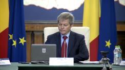 Ședința Guvernului României din 3 decembrie 2015 (imagini protocolare)