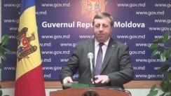 Declarațiile lui Oleg Balan după ședința Guvernului Republicii Moldova din 2 decembrie 2015