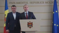 Declarațiile lui Vlad Batrîncea și Grigore Novac în timpul ședinței Parlamentului din 3 decembrie 2015