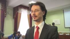 Declarațiile lui Cristi Danileț după deschiderea atelierului de lucru pentru judecătorii din Republica Moldova