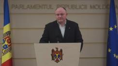 Declarațiile lui Vasile Bolea în timpul ședinței Parlamentului din 3 decembrie 2015