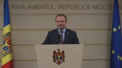 Declarațiile lui Andrian Candu în timpul ședinței Parlamentului din 3 decembrie 2015