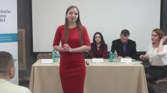 """Dezbatere publică """"Miturile si realitățile corupției în Moldova"""""""