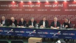 """Conferință de presă cu tema """"Cu privire la intimidare de către instituțiile capturate ale guvernării oligarhice a membrilor Platformei Civice Demnitate și Adevăr, ai Consiliului Marii Adunări Naționale și a participanților la acțiunile populare de protest"""""""