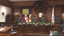 Hotărârea Curții Constituționale asupra sesizării cu privire la demiterea directorilor ANRE