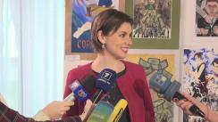 Declarațiile vicedirectorului CNA, Cristina Țărnă, în timpul Conferinței Națională Anticorupție