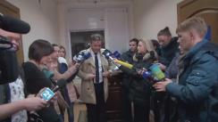 Declarațiile avocatului Igor Popa după hotărârea Judecătoriei Buiucani privind prelungirea mandatului de arest pe numele ex-premierului Vlad Filat