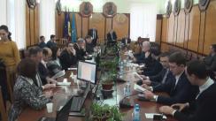 """Masa Rotundă organizată de Institutul de Cercetări Juridice și Politice al AȘM cu genericul """"Sistemul politic din Republica Moldova: funcționalitate și oportunități de modernizare"""""""