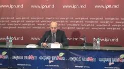 """Conferință de presă organizată de Centrul de Resurse pentru Drepturile Omului (CReDO) cu tema """"Soluția pentru funcțiile de prevenire și de combatere a corupției în cadrul CNA - CNI"""""""