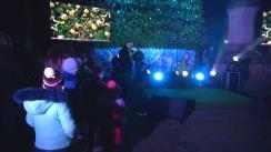 Inaugurarea pomului de Crăciun și aprinderea luminilor de sărbătoare în Orhei