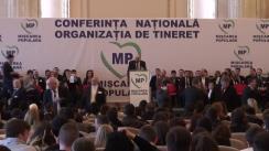 Conferința de înființare a Organizației de Tineret Mișcarea Populară
