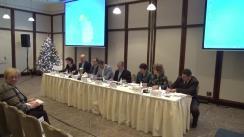 """Conferința finală a proiectului """"SIMPRACT – Tranziția de la școală la viața activă prin practică și crearea de întreprinderi simulate"""", organizată de Consiliul Național al Întreprinderilor Private Mici și Mijlocii din România"""
