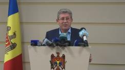 Declarațiile lui Mihai Ghimpu după negocierile între PLDM, PL, PD și deputații neafiliați din grupul Leancă
