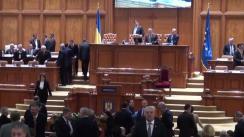 Mesajul președintelui României, Klaus Werner Iohannis, adresat Parlamentului