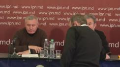 """Conferință de presă organizată de Episcopul de Bălți și Fălești Marchel cu tema """"Campania de denigrare a Bisericii s-a împotmolit"""""""