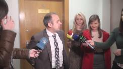 Declarațiile lui Ștefan Creangă după ședința Comisiei economie, buget și finanțe din 16 decembrie 2015