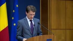 Declarația purtătorului de cuvânt al Guvernului, Dan Suciu, după ședința Guvernului României din 16 decembrie 2015