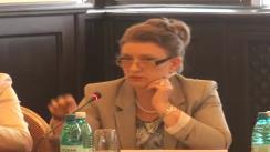 """Conferinta inițială a proiectului """"Promovarea medierii în cauzele transfrontaliere în materie civilă"""". Panel II"""