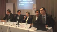 """Lansarea raportului """"Analiza Creșterii Economice în Moldova pentru 2015 & Prognoze 2016"""" de Centrul Analitic Independent """"Expert-Grup"""""""