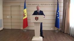 Declarațiile lui Igor Dodon în timpul ședinței Parlamentului din 17 decembrie 2015